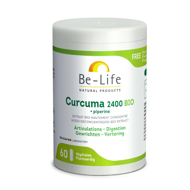 BIO + Be-Life Curcuma Bio + Piperine Bio 60 Gélules