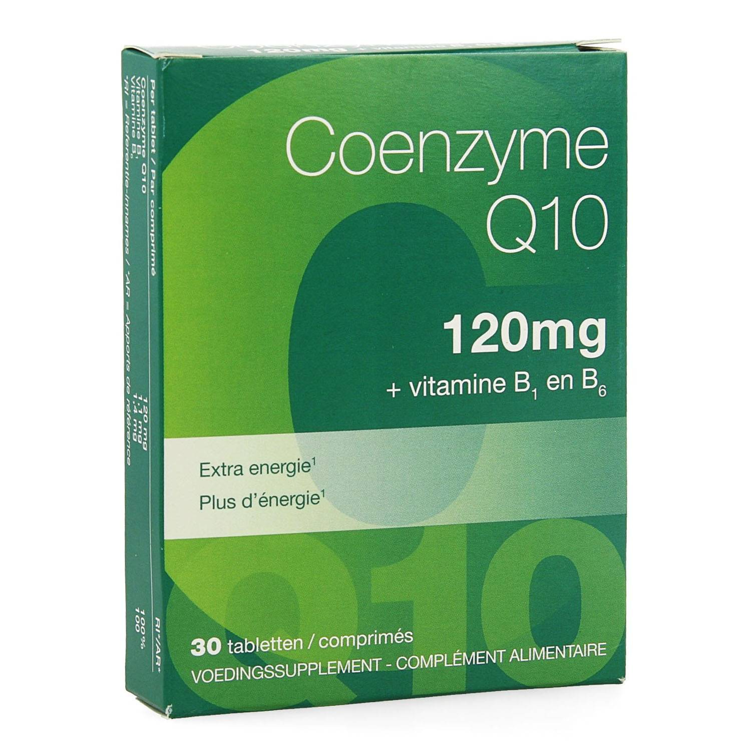 Coenzyme Q10 120 mg 30 Tablettes