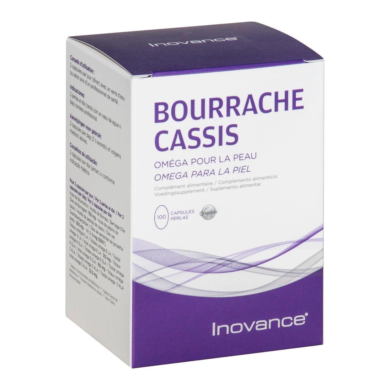 Inovance Huile Bourrache Cassis 100 Gélules