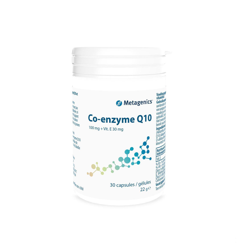 Metagenics Coenzyme Q10 100 mg + Vitamine E 30 Gélules