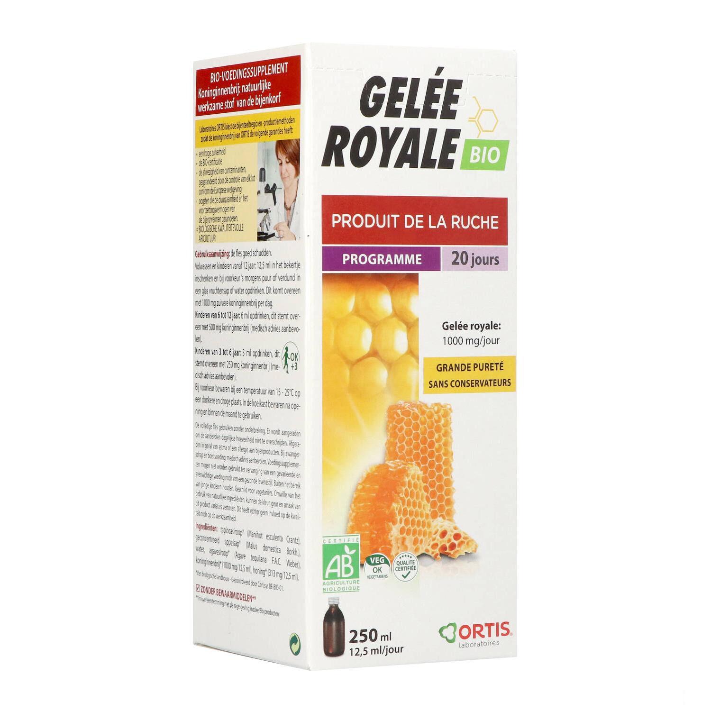 BIO + Ortis Gelée Royale Bio 250 ml
