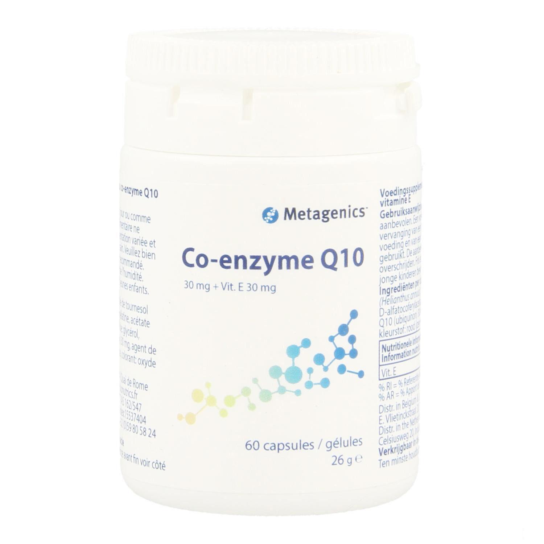 Metagenics Coenzyme Q10 30 mg + Vitamine E 60 Gélules