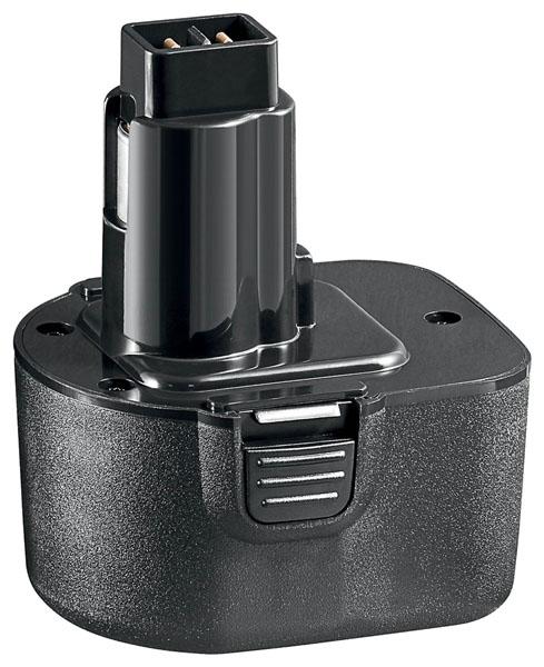 Black & Decker Batterie d'outillage 12V 2.0Ah Ni-Cd Black & Decker A9252 / A9275
