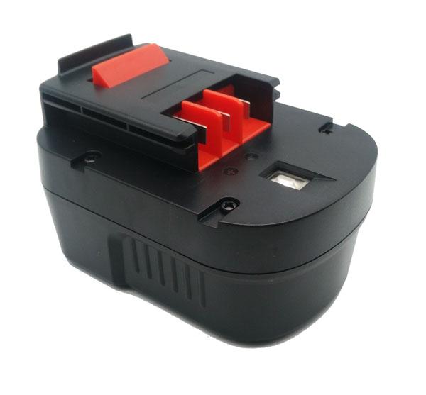 pb Batterie d'outillage 14,4V 2,0Ah Ni-Cd / Ni-Mh BLACK & DECKER A14 / A1714