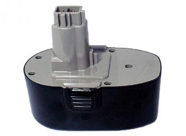 pb Batterie d'outillage 18V 2,0Ah Ni-Cd / Ni-Mh BLACK & DECKER A9282 / A9277