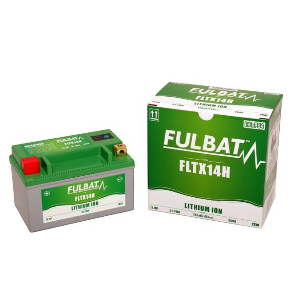 FULBAT Batterie FULBAT Lithium-ion battery FLTX14H