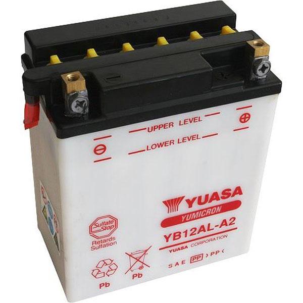 Yuasa Batterie moto Yuasa YB12AL-A2 12V / 12Ah