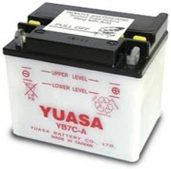 Yamaha batterie moto pour  Yamaha 200 BW200E Big Wheel (Electric Start) (1986-1988)