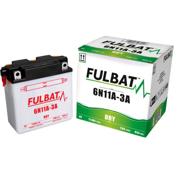 fulbat Batterie Fulbat moto 6N11A-3A 6v (avec entretien)