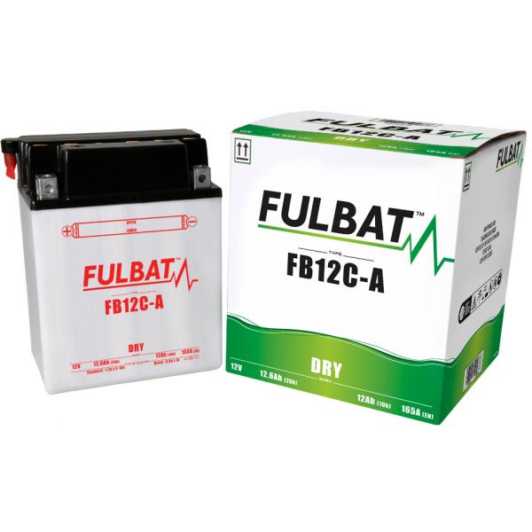 fulbat Batterie Fulbat moto FB12C-A 12V 12,6AH  (avec entretien)