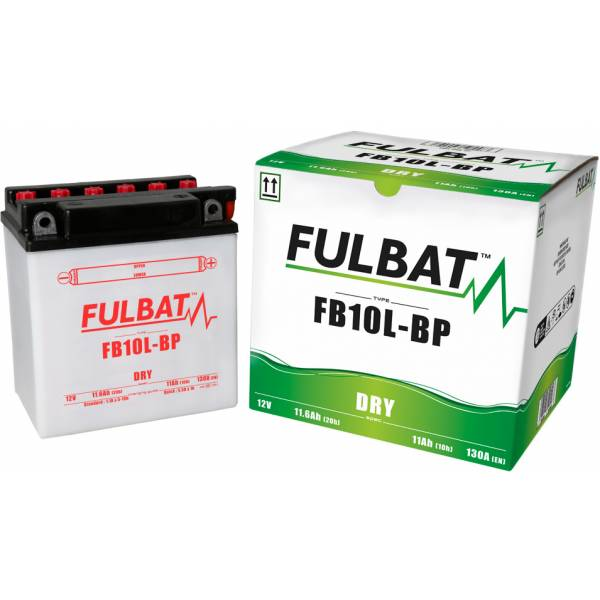 fulbat Batterie Fulbat moto FB10L-BP 12V 11,6AH  (avec entretien)
