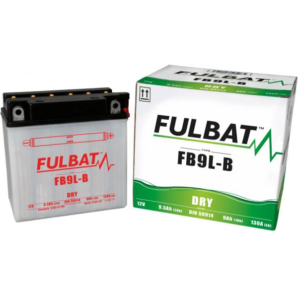 fulbat Batterie Fulbat moto FB9L-B 12V 9AH  (avec entretien)
