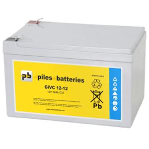 Dyno Batterie plomb étanche GiVC12-12 12V 12Ah pour chariot de golf - Publicité