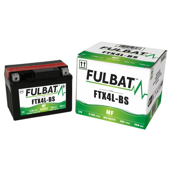 Fulbat Batterie tondeuse YTX4L-BS étanche 12V / 3Ah