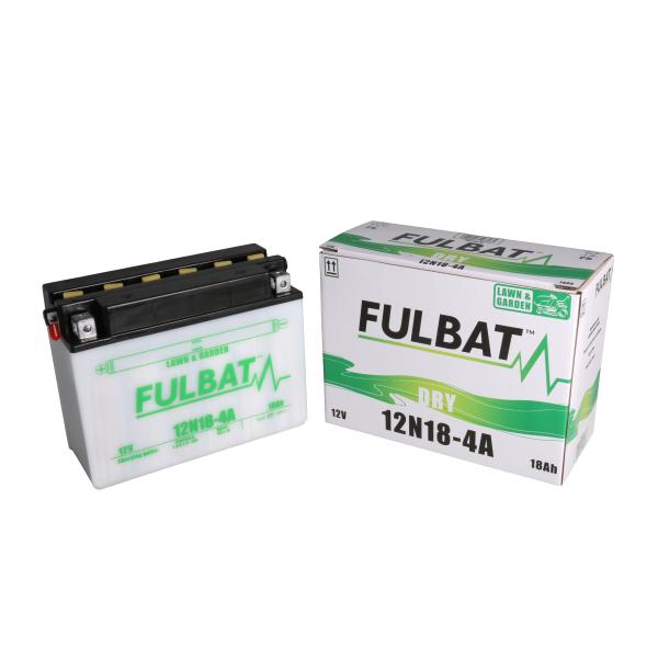 Fulbat Batterie tondeuse 12N18-4A 12V / 18Ah