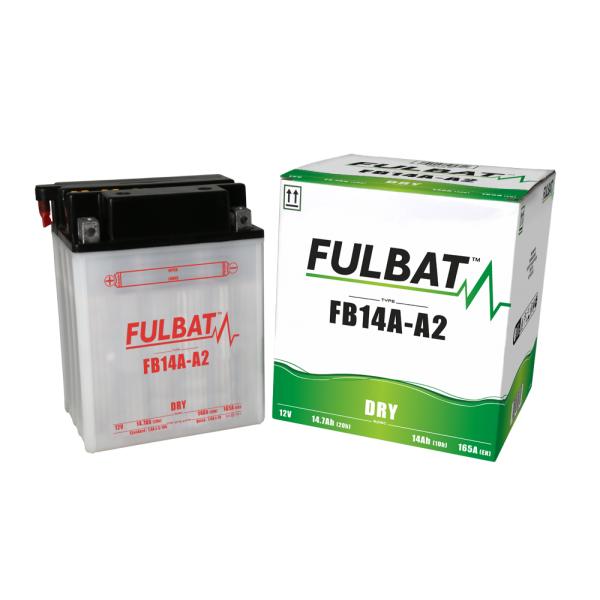 Fulbat Batterie tondeuse YB14-A2-12N14-4A 12V / 14Ah