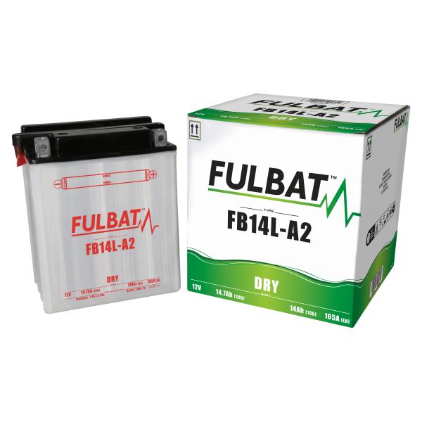 Fulbat Batterie tondeuse YB14L-A2-12N14-3A 12V / 14Ah