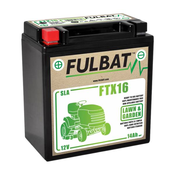 Fulbat Batterie tondeuse YTX16 étanche SLA 12V / 14Ah
