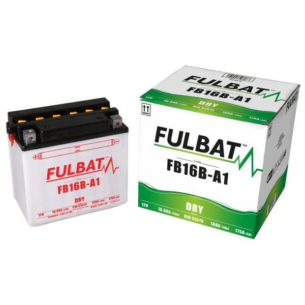 Fulbat Batterie tondeuse YB16-B 12V / 19Ah