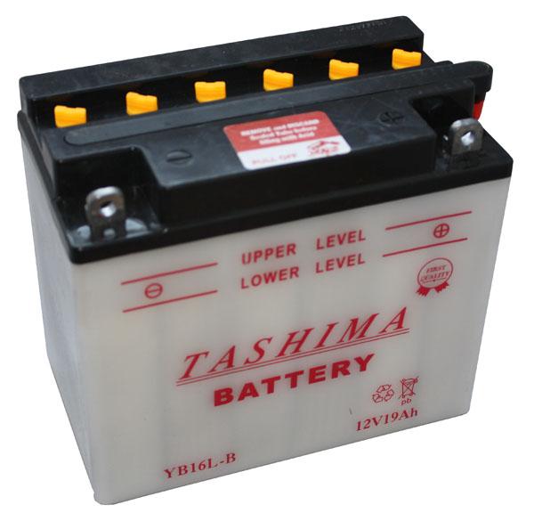 Tashima Batterie tondeuse YB16L-B 12V / 19Ah