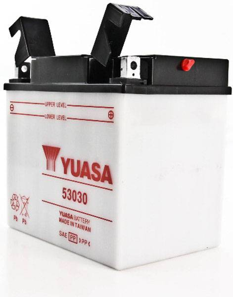 Yuasa Batterie tondeuse 53030 12V / 30Ah