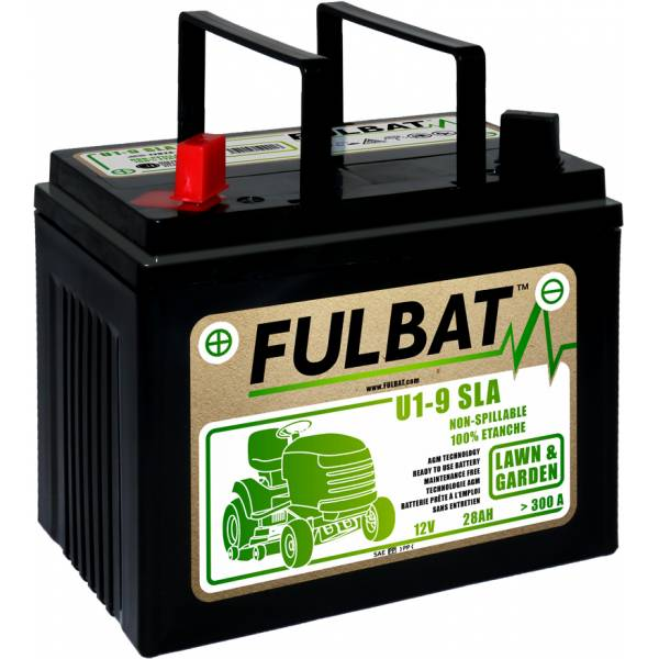 Fulbat Batterie tondeuse U1-9 étanche AGM 12V / 28Ah