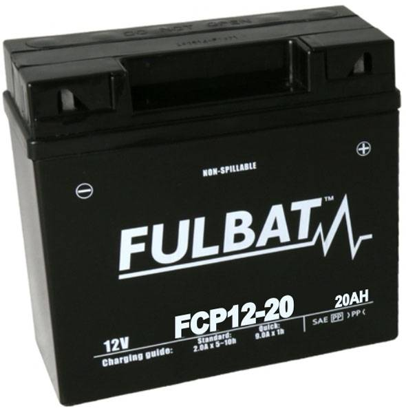 Tashima Batterie tondeuse SLA12-20 étanche AGM 12V 20Ah