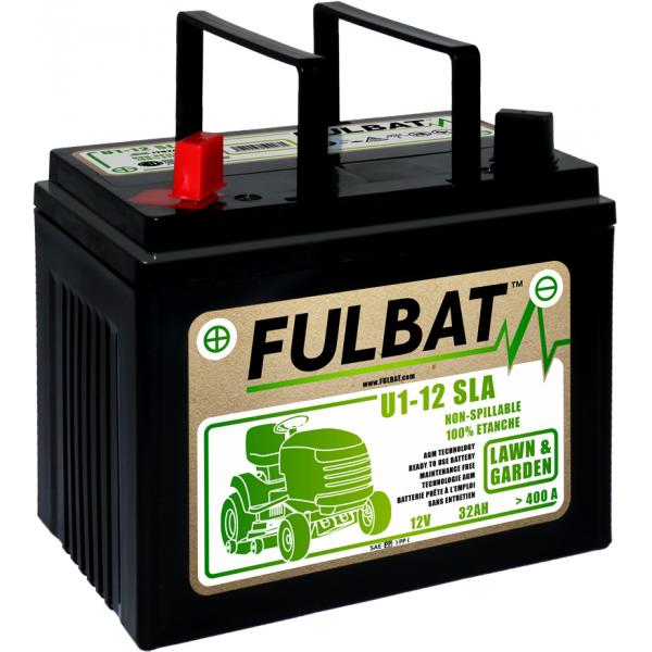 Fulbat Batterie tondeuse U1-12 étanche AGM 12V / 32Ah