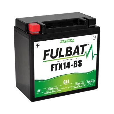 Tashima Batterie tondeuse WP14BS / YTX14-BS / BTX14 étanche au gel 12V / 12Ah