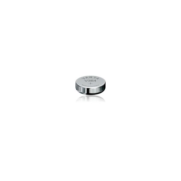 Varta Pile bouton oxyde d'argent Varta 364