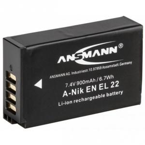 Ansmann Batterie de camescope type Nikon ENEL-22 Li-ion 7.4V 900mAh