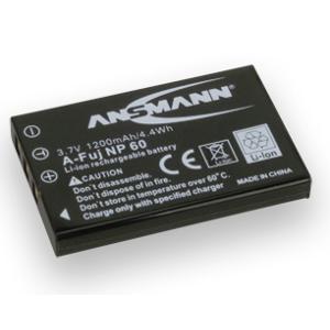 Ansmann Batterie de camescope type Fuji NP-60 Li-ion 3.7V 1150mAh