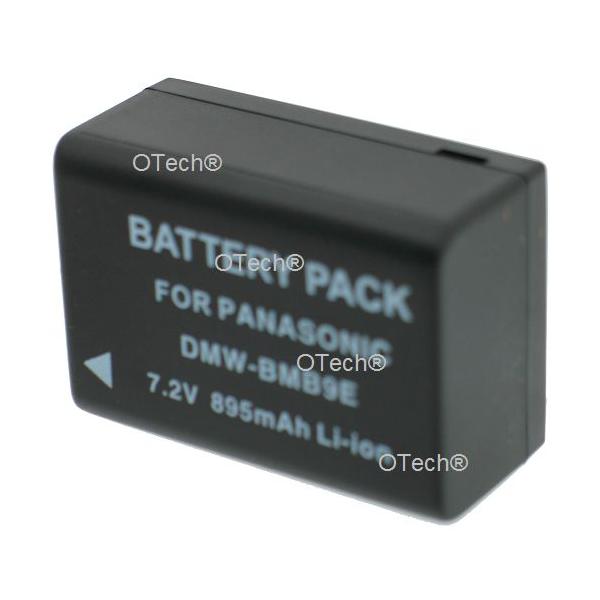Otech Batterie photo numerique pour PANASONIC DMW-BMB9E 7.2V Li-ion 895mAh