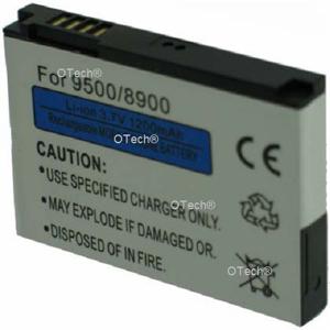Otech Batterie de téléphone portable pour BLACKBERRY 9500 / 8900 3.7V Li-Ion 1300 / 1400mAh - Publicité