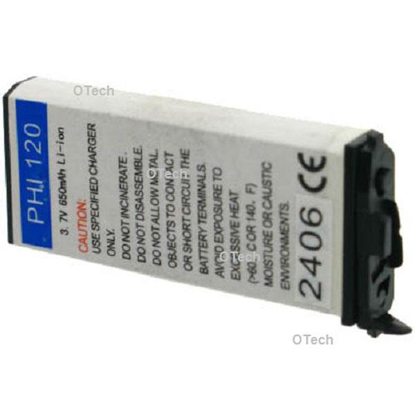 Otech Batterie de téléphone portable pour PHILIPS FISIO 120 / 121 Li-ion 600 / 700mAh