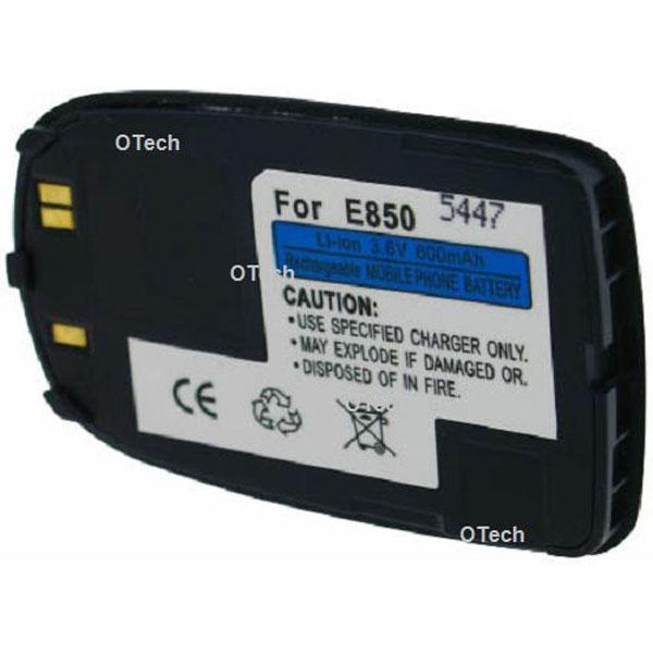 Otech Batterie de téléphone portable pour SAMSUNG E850 dark blue 3.6V Li-Ion 600mAh
