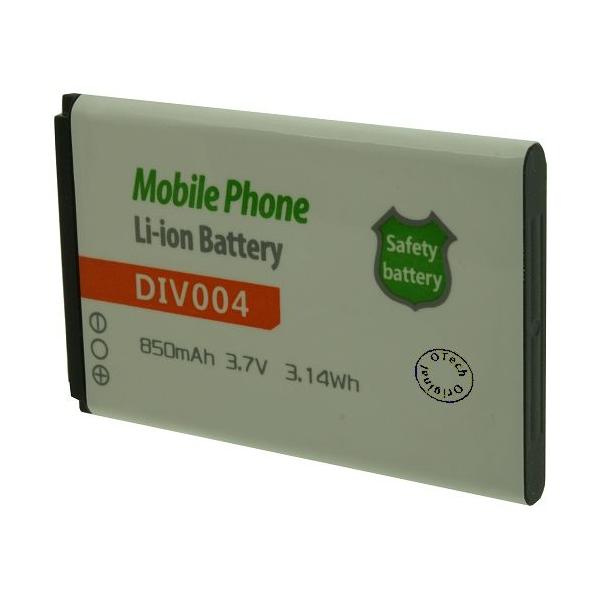 Otech Batt OTech DIV004 3.7V Li-Ion 850mAh