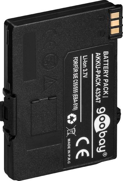 Otech Batterie de téléphone Li-Ion 3.7V 850 mAh pour Siemens GIGASET SL/1 / C55 / S55