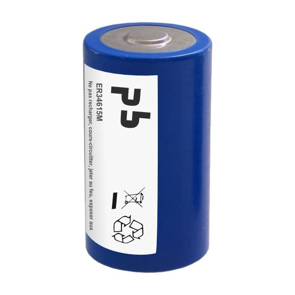 Microbatt Pile lithium 3.6V ER34615M D LR20