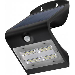 Pb Projecteur mural solaire à LED WALL LIGHT noir avec détecteur de mouvement - Publicité
