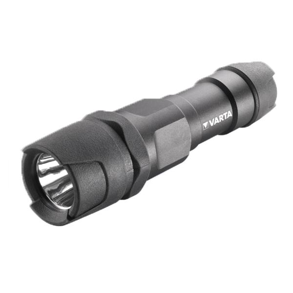 Varta Lampe torche à LED indestructible 1W + 3 piles LR03 AAA