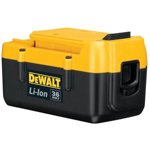 DEWALT batterie de perceuse  DEWALT DCB361 - Publicité