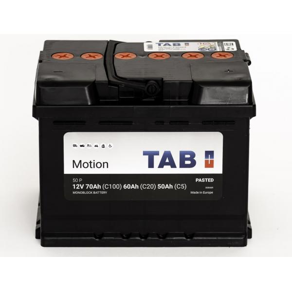 TAB Batterie de décharge lente  Loisirs/Camping-Cars TAB Motion L2 50 P 12V 70/60/50Ah