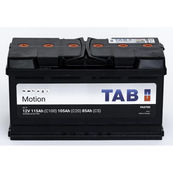 TAB Batterie de décharge lente Loisirs/Camping-Cars TAB Motion L5 85 P 12V 115/105/85Ah