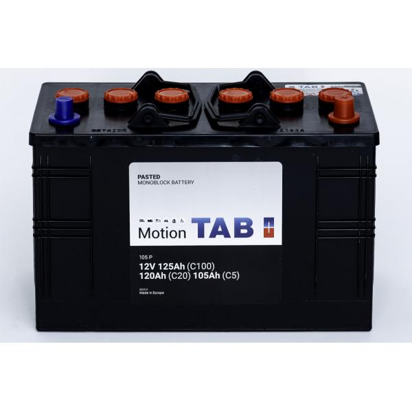 TAB Batterie de décharge lente Loisirs/Camping-Cars TAB Motion 60528 105 P 12V 125/120/105Ah