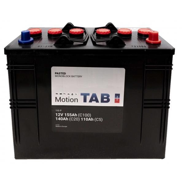 TAB Batterie de décharge lente Loisirs/Camping-Cars TAB Motion 62512 110 P 12V 155/140/110Ah