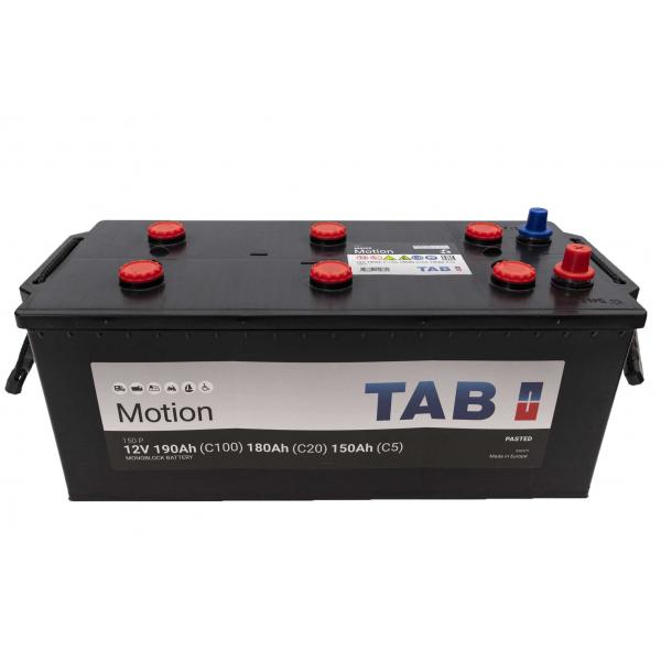 TAB Batterie de décharge lente Loisirs/Camping-Cars TAB Motion B 150 P 12V 190/180/150Ah
