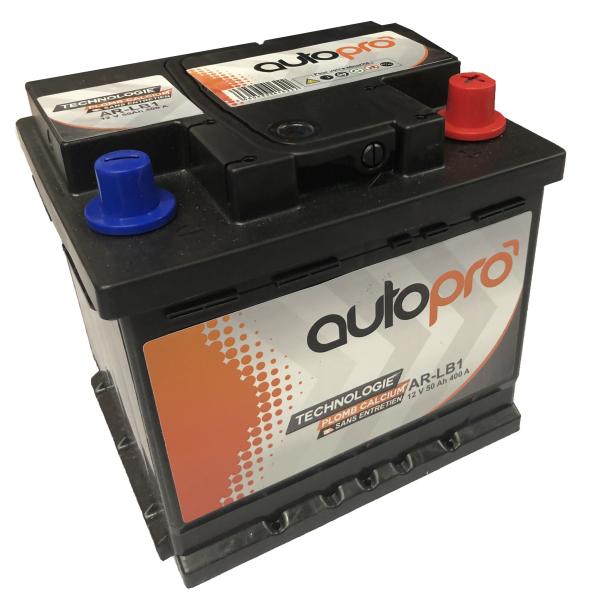 Autopro Batterie AUTOPRO 1er prix SMF AR-L1B  50AH 400 AMPS 207x175x175 +D