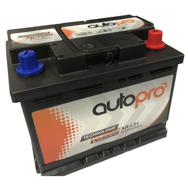 Autopro Batterie AUTOPRO 1er prix SMF AR-L2+  66AH 620 AMPS 242x175x190 +D