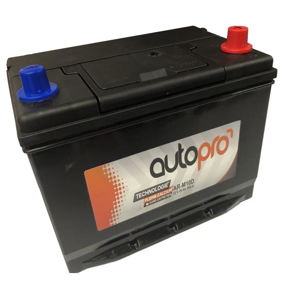 Autopro Batterie AUTOPRO 1er prix SMF AR-M10D  70AH 600 AMPS 261x175x220 +D